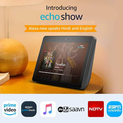 Echo Show - Premium sound and a vibrant 10.1\