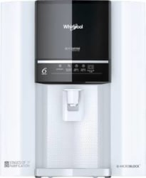 Whirlpool Purasense 7 L RO + UV + UF Water Purifier with DIY Technology White, Black