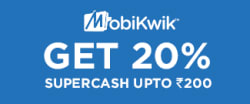 Get Upto Rs.200 SuperCash from MobiKwik