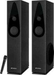 Sansui SA100WT 100 W Bluetooth Tower Speaker Black, 2.1 Channel