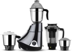 Butterfly Rapid 4 Jar 750 watts 750 W Juicer Mixer Grinder Black, 4 Jars