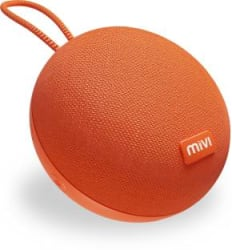 Mivi Zero Portable Bluetooth Speaker Orange, Mono Channel