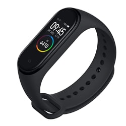 Mi Smart Band 4- India s No.1 Fitness Band, Up-to 20 Days Battery Life, Color AMOLED Full-Touch Screen, Waterproof with Music Control and Unlimited Watch Faces