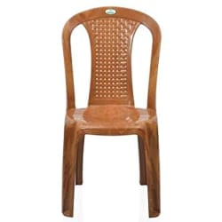 Nilkamal Plastic Luxuriant Multipurpose Chair for Maximum Relaxation and High Back Support with Anti Skid Base