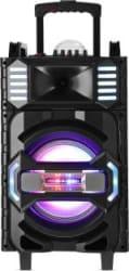 Altec Lansing AL-5001 with DJ Light & Karaoke 50 W Bluetooth Party Speaker Black, Grey, Gold, Stereo Channel