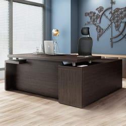 Durian DWS 34755/A Office Desk (Matte Finish, Wenge)