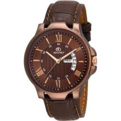 ADAMO Legacy Day Date Mens Wrist Watch A829BR04