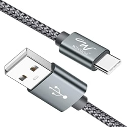 Wayona USB Type C Charger Cable Fast Charging USB C Cable/Cord for Samsung Galaxy S10e S10 S9 S8 Plus S10+, Note 10 Note 9 Note 8, LG G7 G6 G5 V40 V35 V30 V20, Pixel 2 XL Nylon Braided
