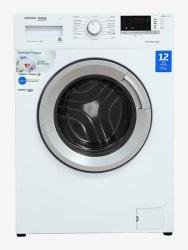Voltas Beko 6.5 Kg Inverter Fully-Automatic Front Load Washing Machine (WFL65W,White)