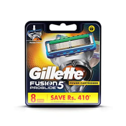 Gillette Fusion Proglide FlexBall Power Shaving Razor Blades - 8s Pack (Cartridge)