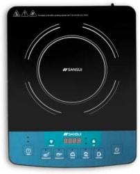 Sansui ProHome 1800W Induction Cooktop Black, Blue, Push Button