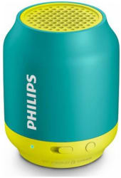 Philips BT50A Bluetooth Portable Speaker ( Green & Yellow )
