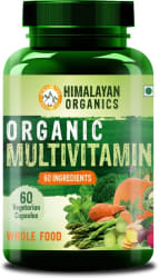 Himalayan Organics Organic Multivitamin with 60+ Certified Organic Extracts 60 No
