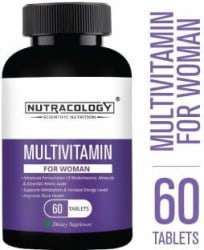Nutracology Multivitamin for women with Vitamin, minerals and Antioxidants 60 Tablets 60 Tablets