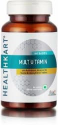 Healthkart Multivitamin with Ginseng Extract, Taurine and Multiminerals 60 No