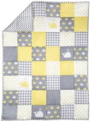 Rajrang Multi Color Cotton Baby Blanket soft Printed Baby Quilt by Rajrang