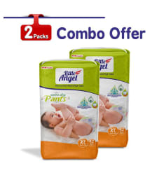 Little Angel Baby Diaper Pants, Extra Large (2 X Pack of 42)