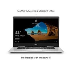 Dell Inspiron 7580 Core i5 8th Gen 15.6-inch FHD Laptop (8GB/1TB + 128GB SSD/Windows 10 + MS Office/2GB Graphics/Silver)