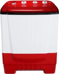 Onida 8 kg Auto Scrubber Semi Automatic Top Load Red S80ONR