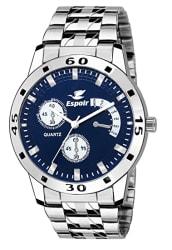 Espoir Analogue Blue Dial Watch for Men- Espoir0507