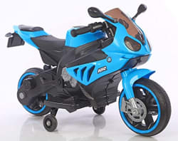 Toyhouse Mini Super Bike with Rechargeable Battery Operated Ride-on for Kids(2 to 5yrs),Blue
