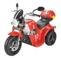 Toyhouse Samurai Strike 8 Rechargeable Battery Operated Ride on Bike for Kids(2 to 4yrs) Red