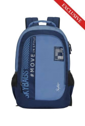 Skybags Beatle 27 Ltr Blue Small Backpack