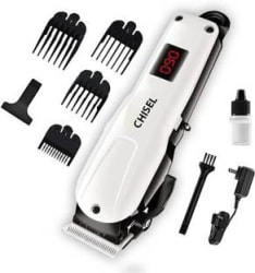 Chisel 1100 Rechargeable Hair clipper Runtime: 120 min Trimmer for Men White