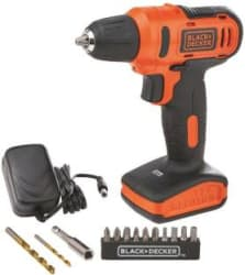 Black & Decker LD12SP Pistol Grip Drill 10 mm Chuck Size