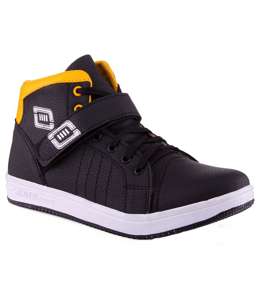 6258b65337d Aadi Black Canvas Casual Shoes