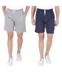 Neo Garments Multi Shorts PACK OF 2 - Buy Neo Garments Multi Shorts PACK OF 2 Online at Low Price in India - Snapdeal