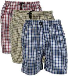 River Hill Checkered Men Multicolor Boxer Shorts