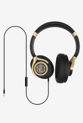 Nu Republic Starboy W On The Ear Headphones with Mic (BlackGold)