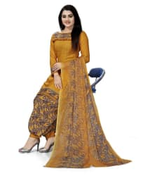 DESIMISSKART Yellow,Beige Cotton Dress Material - Buy DESIMISSKART Yellow,Beige Cotton Dress Material Online at Best Prices in India on Snapdeal