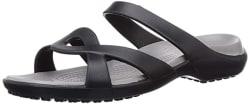 crocs Women s Meleen Twist Sandal W Fashion Slippers