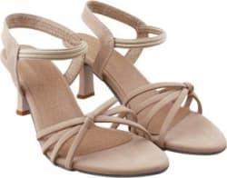 RINDAS Women Beige Heels