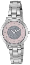Timex Analog Pink Dial Women s Watch-TW000T613
