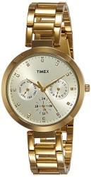 TIMEX Fashion Analog Gold Dial Women s Watch-TW000X208