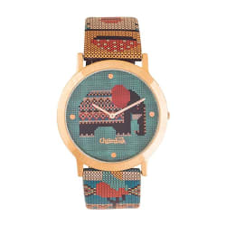 Chumbak Analogue Green Dial Women s Watch