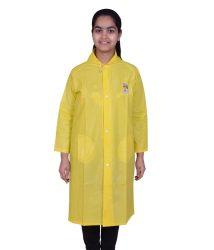 Rainfun Long Yellow Raincoat For Kids