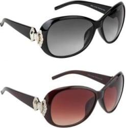 Irayz Over-sized Sunglasses Black