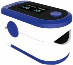 Aiqura AD805 Pulse Oximeter Blue, White