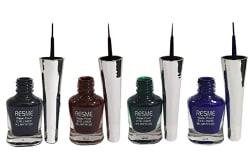 Resme Waterproof Eyeliner, Set of 4 (Black, Brown, Blue, Green)