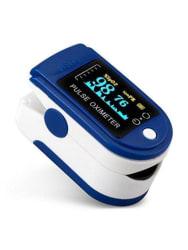 Acku-Chek Finger Tip Oximeter Digital Pulse Reader with OLED Display (Blue)