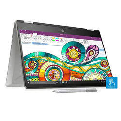 HP Pavilion x360 Core i7 8th Gen 14-inch Touchscreen 2-in-1 FHD Thin and Light Laptop (16GB/512GB SSD/Windows 10/MS Office/2GB Graphics/Mineral Silver/1.59 kg), 14- dh0045TX