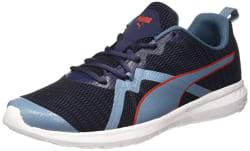 Puma Unisex s Vigor X Mu Idp Peacoat-Bluestone-high Ri Running Shoes