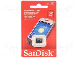 SanDisk 32GB Class 4 microSDHC Flash Memory Card (SDSDQM-032G-B35)