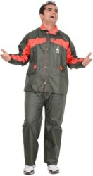 Allwin Solid Men Raincoat