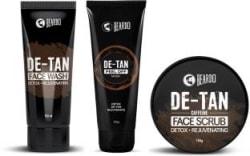 Beardo (De-Tan Face Wash,De-Tan Face Scrub & De-Tan Peel off Mask) 3 Items in the set