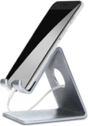 ELV Portable Aluminium Mobile Stand Holder With Convenient Charging for Tablet and Smartphones Mobile Holder